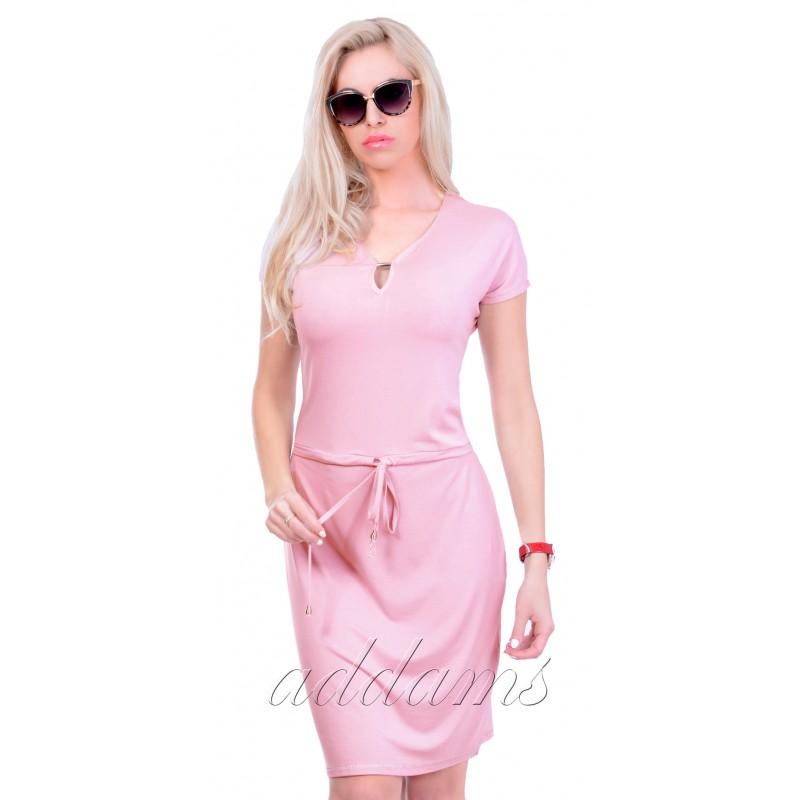 Modna dresowa sukienka P835