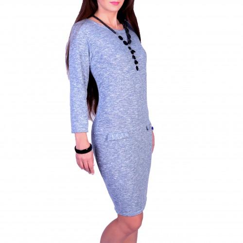 Elegancka sukienka dzianinowa P814