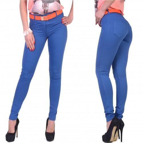 Elastyczne spodnie bawełniane  P406
