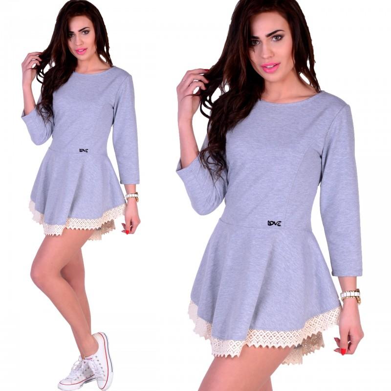 Sukienka- tunika włóczka P520
