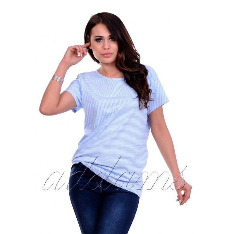 Stylowa bluzka w paski P684