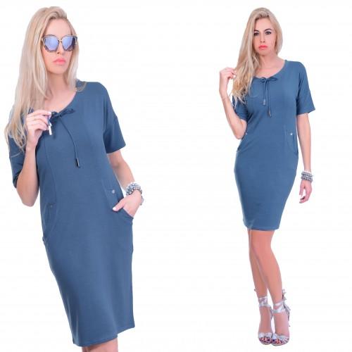 Luksusowa sukienka troczki P834