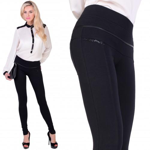 Eleganckie spodnie z dżetami P337