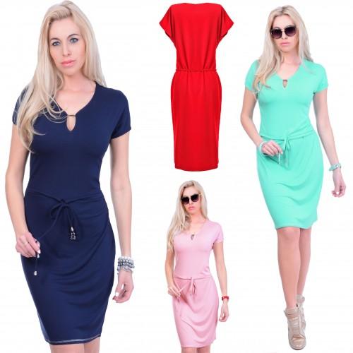 Modna dresowa sukienka MAJA P835