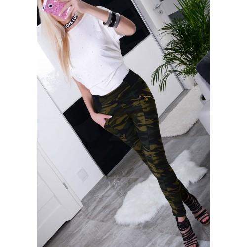 Spodnie moro khaki 3 kolory P369