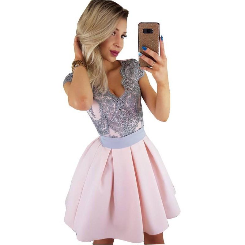 Sukienka z gorsetem E13
