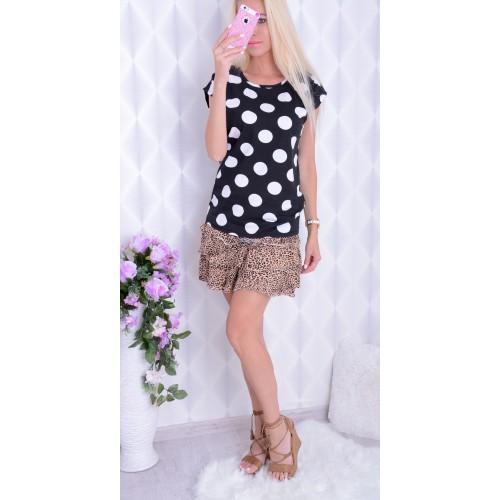 NOWOŚĆ modna bluzka  w grochy P623