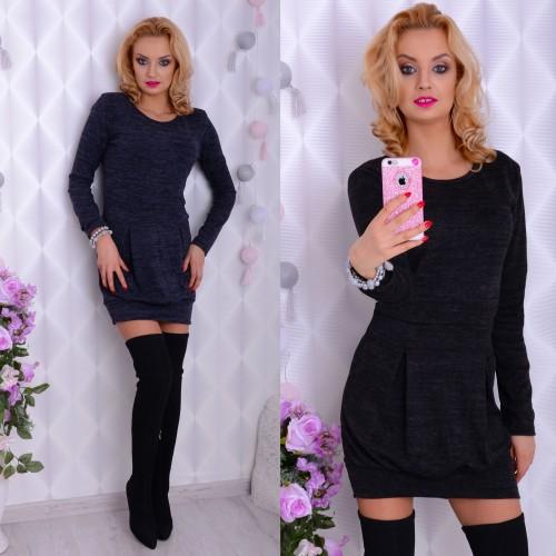 Ciepła sukienka z angorki P881