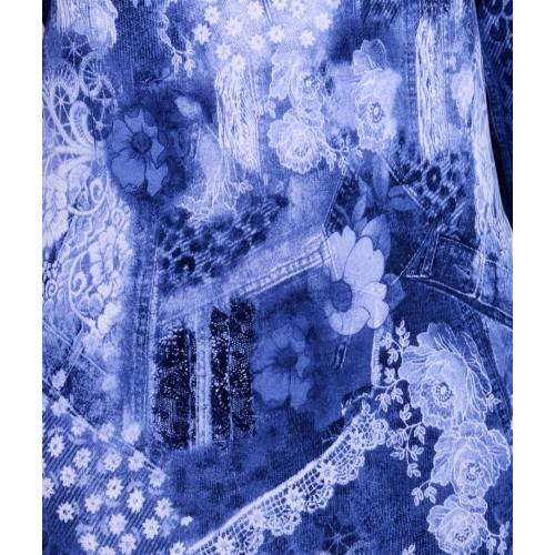 Sukienka jeansowa midi P225