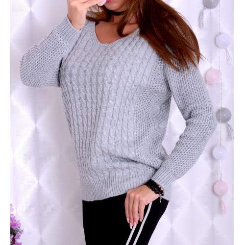 Oversize luźny sweter duże rozmiary P680