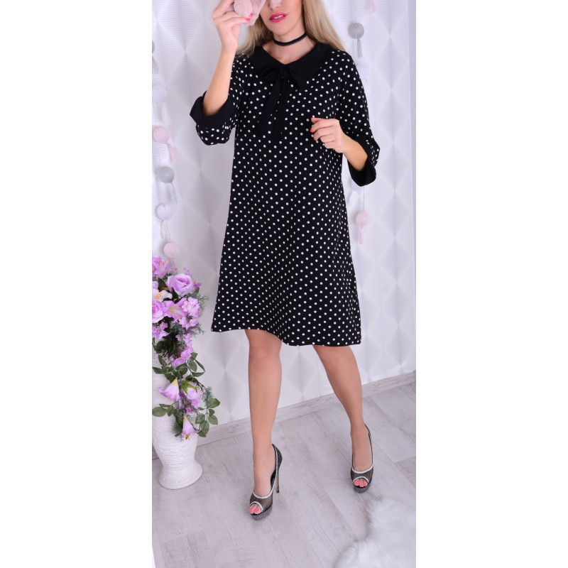 Najmodniejsza sukienka w groszki P239