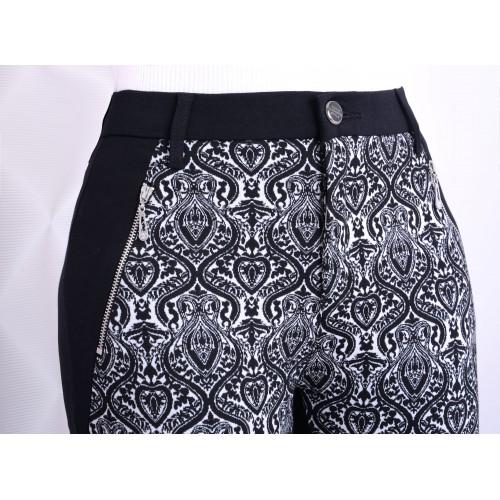 NOWOŚĆ Wygodne rozpinane spodnie w modne wzory P328