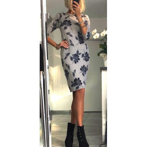 Modna sukienka z angorki P240