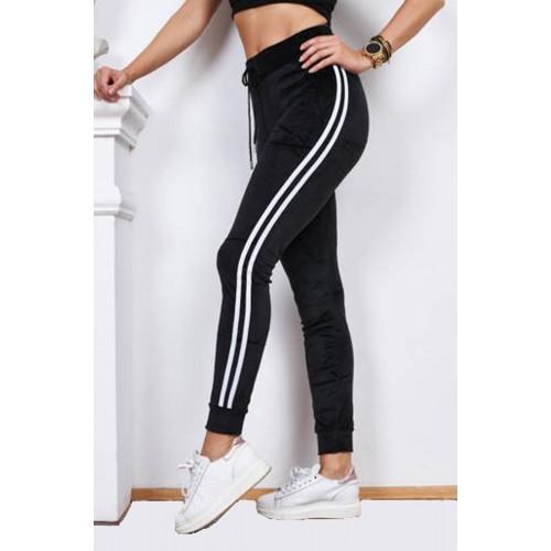 Najmodniejsze spodnie dresowe welurowe P310