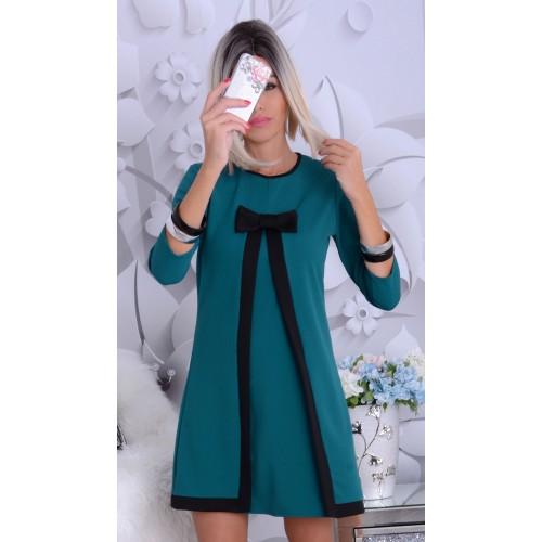 Elegancka sukienka JULIA WSTĘGA P885
