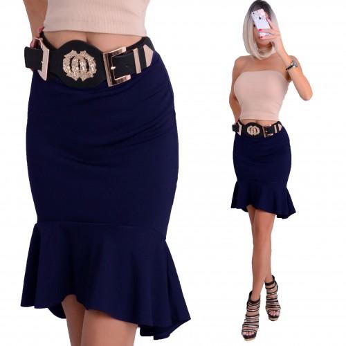 Sexy spódniczka asymetryczna -hiszpanka P605