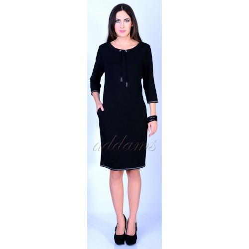 Dresowa sukienka z troczkami P815