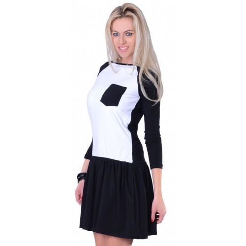 Luźna sukienka dresowa P825