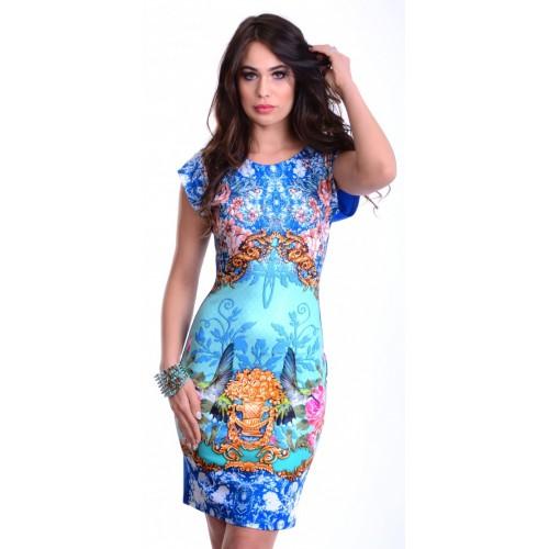 Sukienka w stylu CAVALLI P827