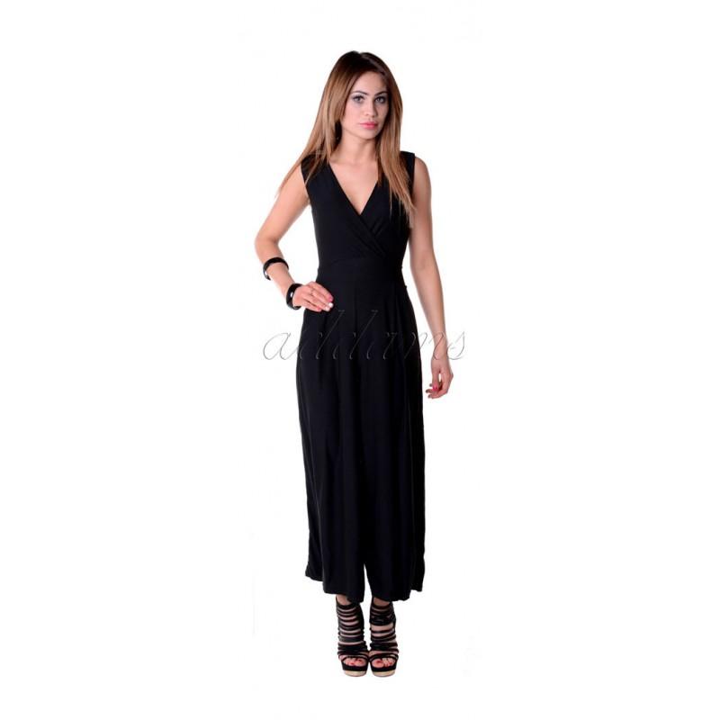 Wygodny kombinezon spodnie-sukienka P801