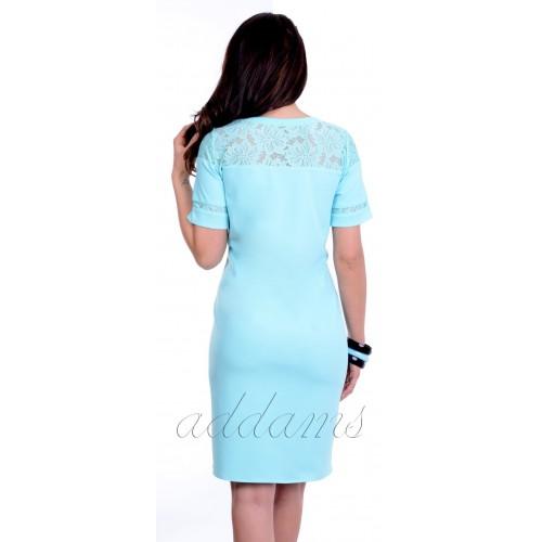 Luksusowa sukienka z koronką P829
