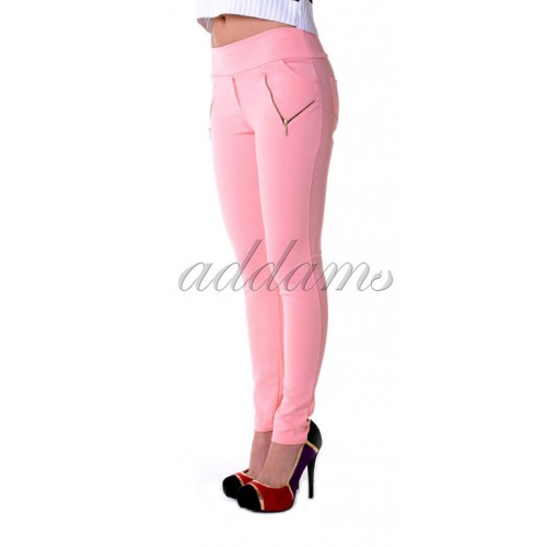 Spodnie rurki perforowane efekt 3D P308