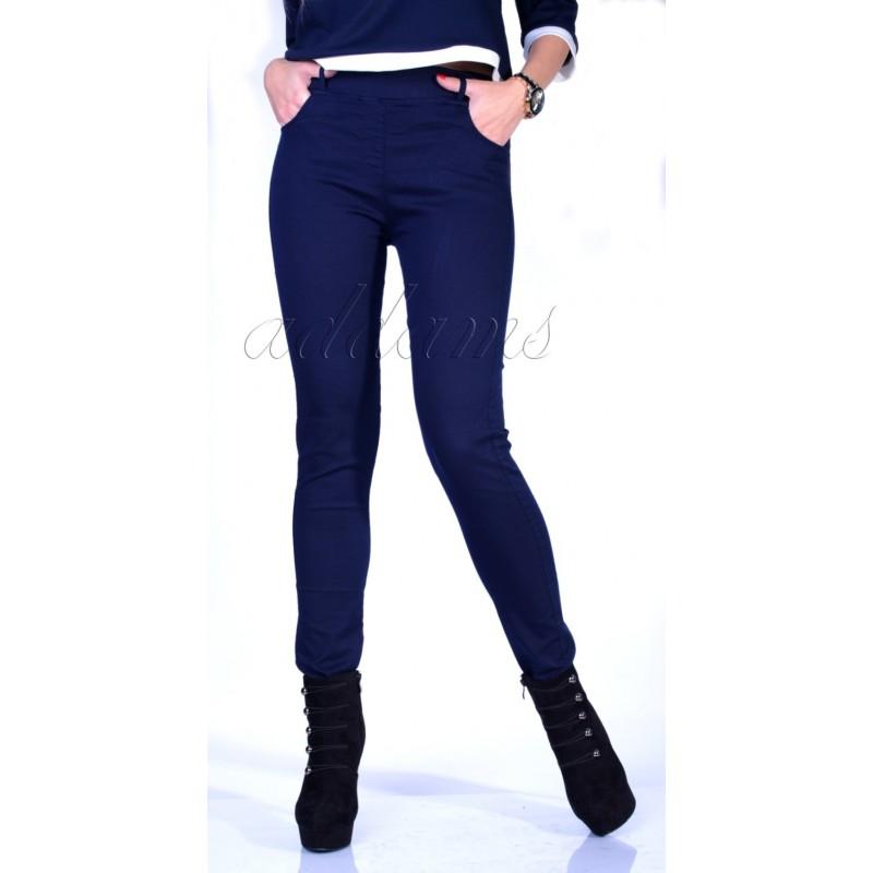Wygodne spodnie - jeansy rurki P348
