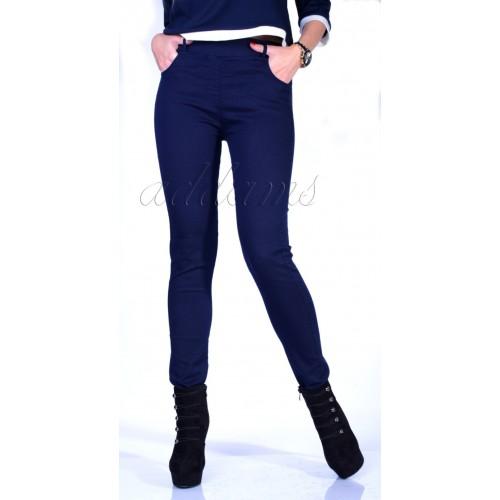 Soldne i wygodne spodnie - jeansy z prostą nogawką P348