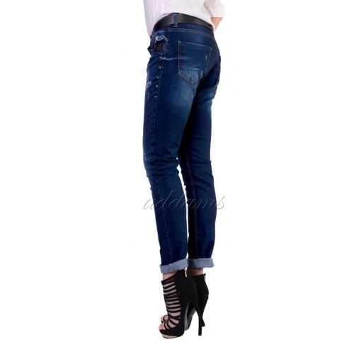 Orginalne modne jeansy ze streczem denim P358